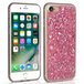 Caseflex iPhone 7 Tinfoil Soft Case - Pink - Image 2