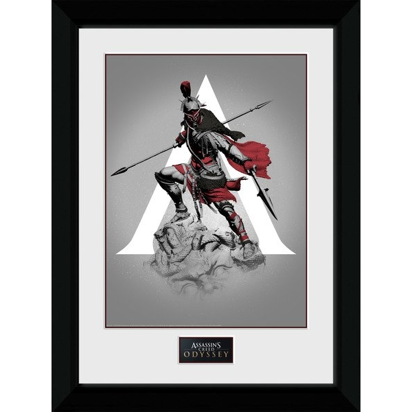Assassins Creed Odyssey Graphic Framed Collector Print