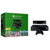 (Damaged Packaging) Xbox One 500GB Console with Kinect Sensor (Includes 3 Games)