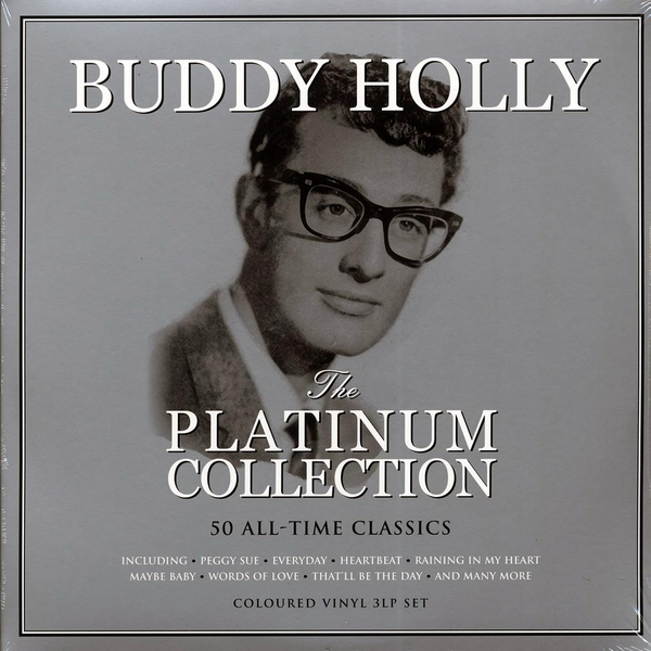 Buddy Holly - The Platinum Collection White Vinyl