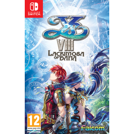 Ys VIII Lacrimosa of DANA Adventurer's Edition Nintendo Switch Game