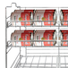 3 Tier Tin Can Rack | M&W - Image 4