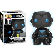Superman Glow In The Dark (Justice League) Funko Pop! Vinyl Figure #07