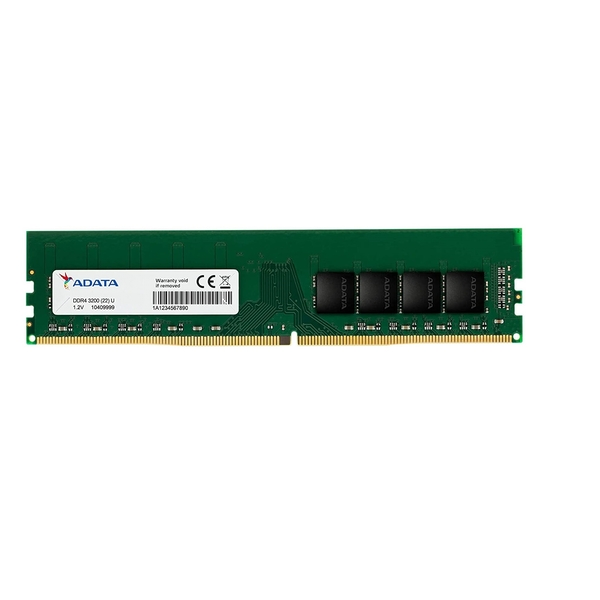 Image of ADATA 8GB, DDR4, 3200MHz (PC4-25600), CL22, DIMM Memory