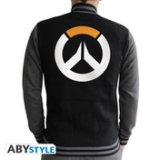 Overwatch - Logo Men's XX-Large Jacket - Black/Dark Grey