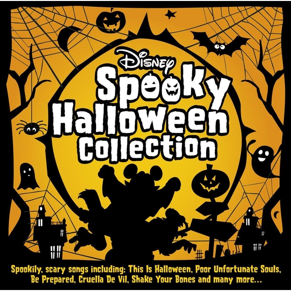 Disney Spooky Halloween Collection CD
