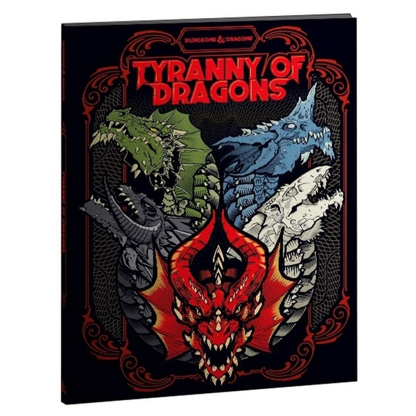 Dungeons & Dragons Tyranny of Dragons (Hoard of the Dragon Queen/The Rise of Tiamat) Limited Edition Cover