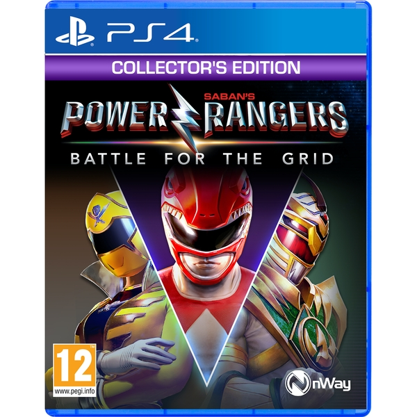 Power Rangers Battle for the Grid Collector's Edition PS4 Game