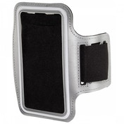 Smartphones Size 4 Sport Armband Case (Silver)