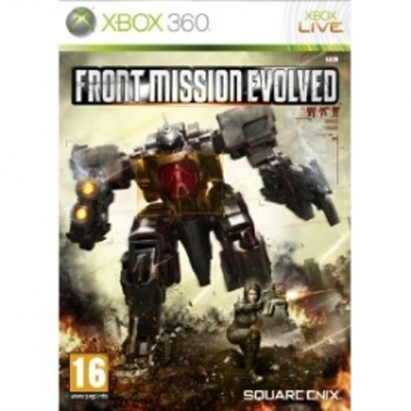 Ex-Display Front Mission Evolved Game Xbox 360 Used - Like New