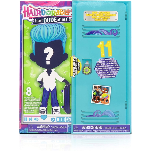 Hairdorables Hairdudeables - Series 3 Figures (1 At Random)