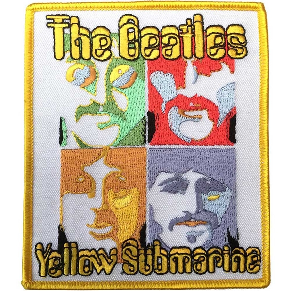 The Beatles - Yellow Submarine Sea of Science Standard Patch