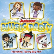 Disney Junior - Music Party CD