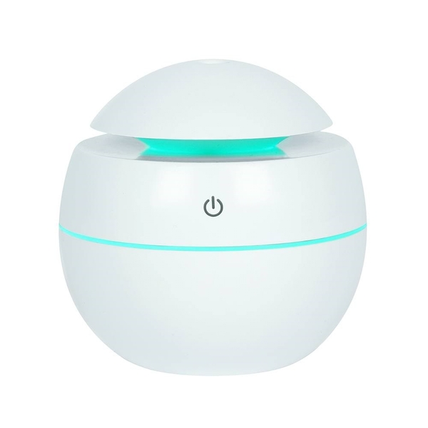 Small Round White USB Powered Aroma Diffuser 150ml
