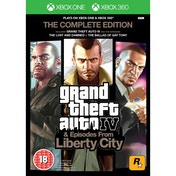 Grand Theft Auto IV 4 GTA Complete Edition Game Xbox 360 & Xbox One