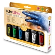 Paintglow Glitter Body Gels Box Boxset