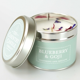 Blueberry & Goji (Pastels Collection) Tin Candle