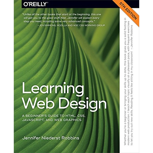 Learning Web Design 5e by Jennifer Niederst Robbins (Paperback, 2017)
