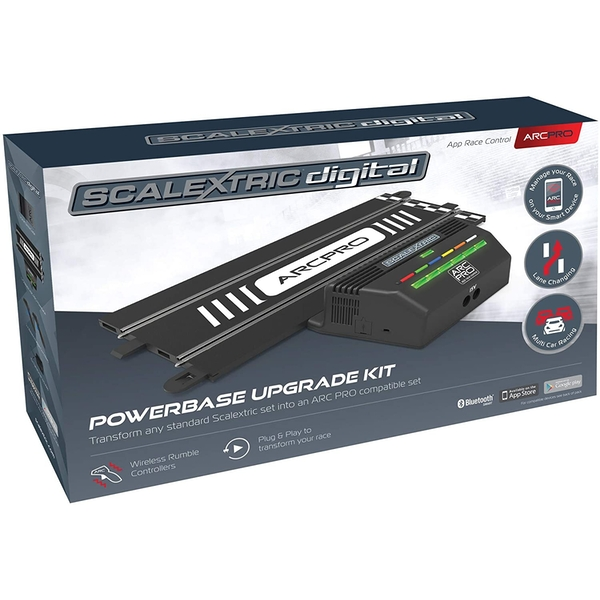 Scalextric C8435 ARC PRO Powerbase Upgrade Kit UK Plug