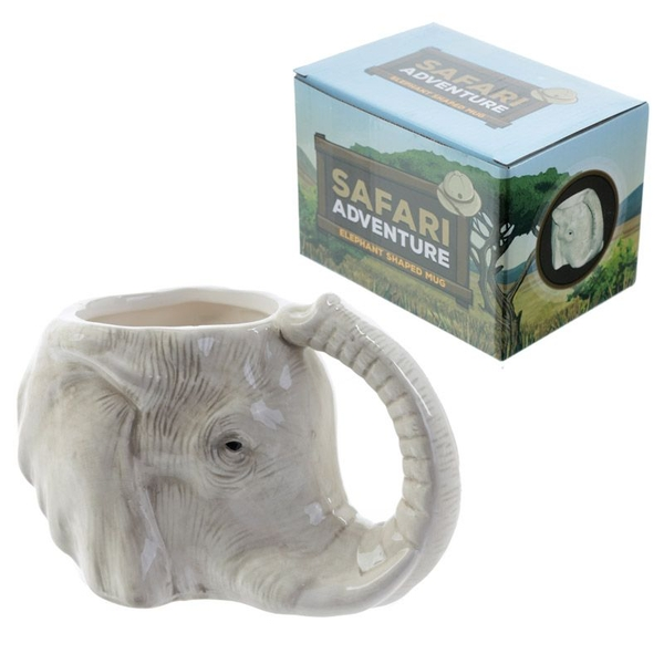 Ceramic Elephant Shaped Collectable Mug