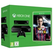 Xbox One Console with Kinect and FIFA 14 Game
