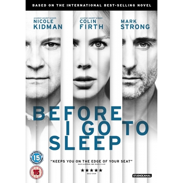 Before I Go To Sleep DVD