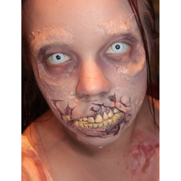 White Out 1 Day Halloween Coloured Contact Lenses (MesmerEyez XtremeEyez) - Image 5