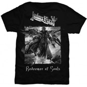 Judas Priest Redeemer of Souls Mens Black T Shirt: Small