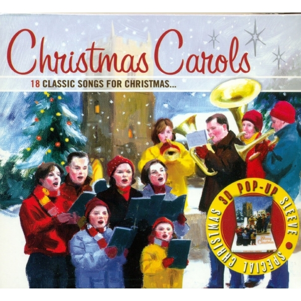 Christmas Carols 3d Pop-Up Packaging CD