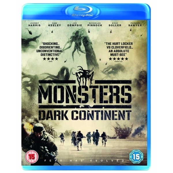 Monsters Dark Continent Blu-ray