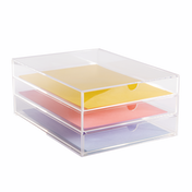 Acrylic Paper & Stationery Drawers Acrylic Paper Drawers (A4) Pukkr