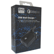 Evo Labs 2.4A USB Wall Charger UK Plug