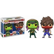 Gamora vs Strider (Marvel vs Capcom) Funko Pop! Vinyl Figure 2 Pack