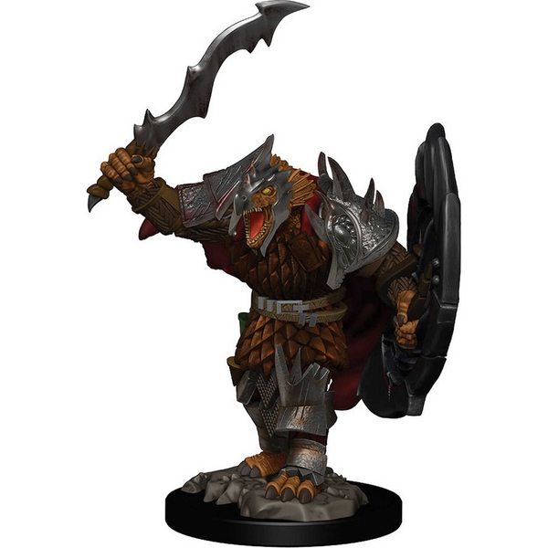 D&D Icons of the Realms Premium Figures - Dragonborn Male Fighter