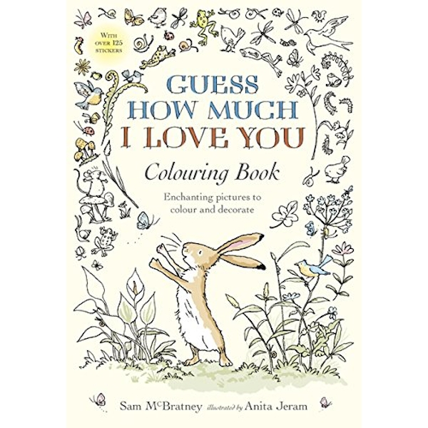 Guess How Much I Love You Colouring Book by Sam McBratney (Paperback, 2017)