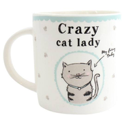 Crazy Cat Lady Boxed Mug
