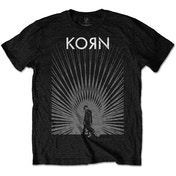 Korn - Radiate Glow Men's Small T-Shirt - Black