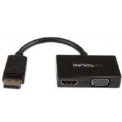 StarTech Travel A/V Adapter 2-in-1 DisplayPort to HDMI or VGA