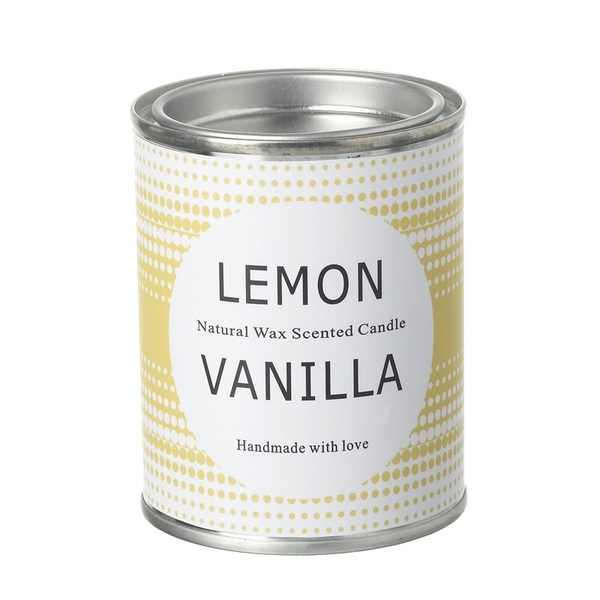 Lemon Vanilla Scented Candle By Heaven Sends