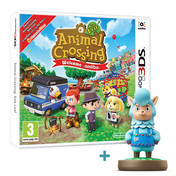 Animal Crossing New Leaf Welcome Amiibo 3DS Game + Cyrus Amiibo