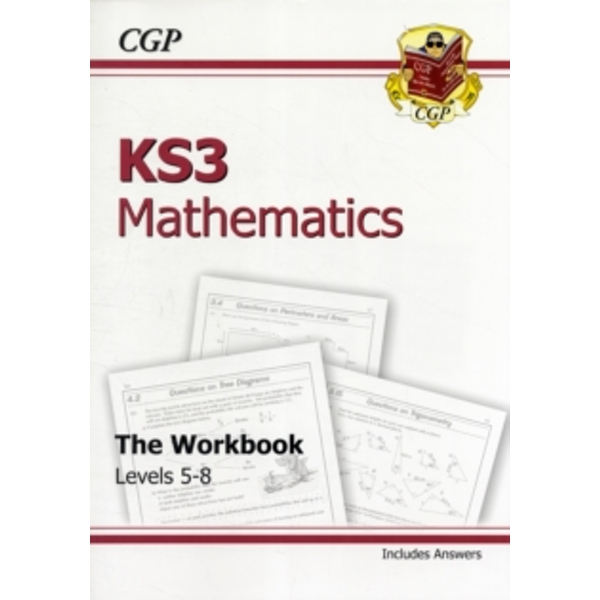 KS3 Maths Workbook (with Answers) - Higher by CGP Books (Paperback, 1999)