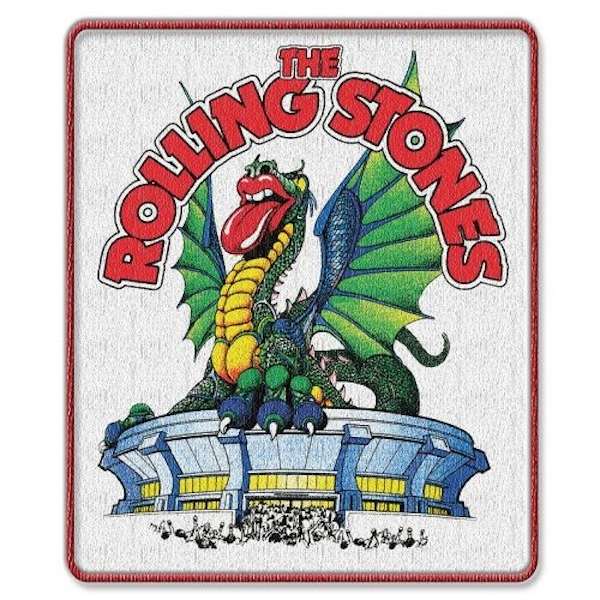 The Rolling Stones - Dragon Standard Patch