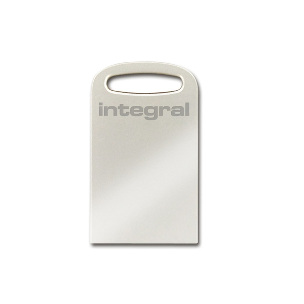 Integral 512GB USB3.0 Memory Flash Drive (Memory Stick) Fusion Metal + Keylace