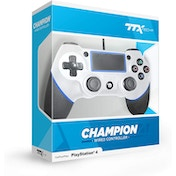 TTX White Champion Wired PS4 Controller