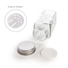 Spice Jars with Shaker Lids - Set of 12 | M&W - Image 4