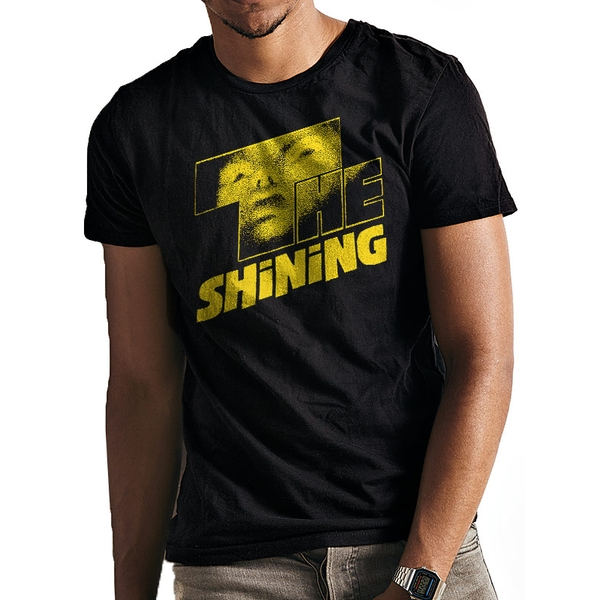 The Shining - Yellow Logo Men's Large T-shirt - Black