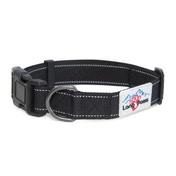 Long Paws Urban Trek Reflective Collar Medium Black