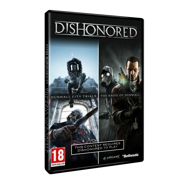 Dishonored DLC Double Pack (Dunwall City Trials & The Knife of Dunwall) Game PC - Image 1