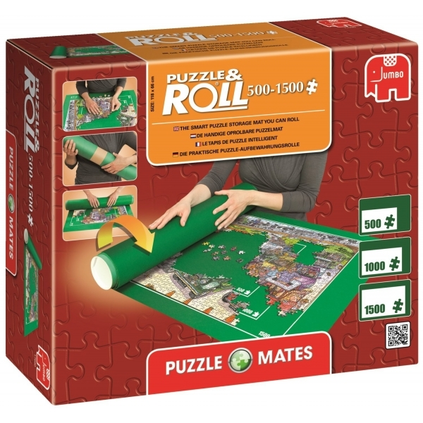 Image of Puzzle Mates Puzzle & Roll Jigroll 500-1500 Pieces