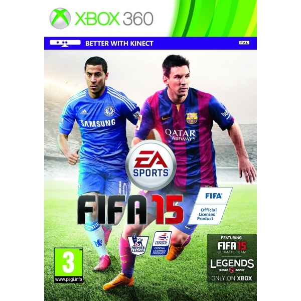 FIFA 15 Xbox 360 Game (with 15 FUT Gold Packs)